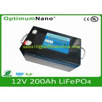 Buy cheap BMS OptimumNano li ion Battery 12V 100Ah For Solar Energy Storage from wholesalers