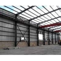 Buy cheap Anti Corrosion Office Or Workshop Steel Structure With Grey Color Paint from wholesalers