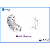 Buy cheap Forged Nickel 200 Blind Pipe Flanges 150LB - 1500LB from wholesalers