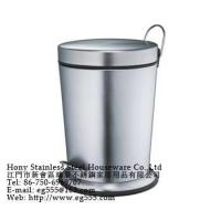 Buy cheap Stainless steel trash bins from wholesalers