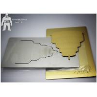 Buy cheap Gold Inspirational  Custom Metal Bookmarks For Women , Personalized  Plain Metal Bookmarks from wholesalers