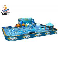 Buy cheap 2018 China Amusement Park Suppliers Child Trampoline Park Playground Indoor Trampoline Park Equipment from wholesalers