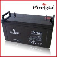 Buy cheap RV batteries 12V 100Ah from wholesalers