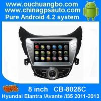 Buy cheap Ouchuangbo Car GPS DVD radio nav for Hyundai Elantra /Avante /I35 2011-2013 Android 4.2 OS from wholesalers