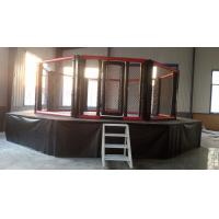 Buy cheap UFC standard MMA  cage with 1m catwalk from wholesalers