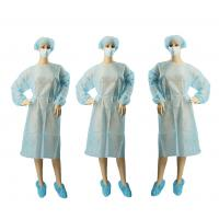 Buy cheap Surgical Non Woven Garments PP PE Coated XXL Full Length Custom Color from wholesalers