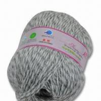 Buy cheap 30% Alpaca and 70% Wool Hand-knitting Yarn, Anti-pilling and Shrink-proof from wholesalers