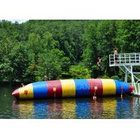 Wholesale Red / Blue / Green Inflatable Water Pillow Water Floating Launch Toy from china suppliers