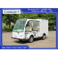 Buy cheap 4 Person Electric Transportation Vehicles , Electric Delivery Cart With Closed Box from wholesalers