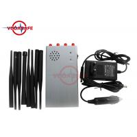 Wholesale Classroom Mini Portable Cellphone Jammer , Cellular Signal Jammer Aluminum Heat Sink from china suppliers
