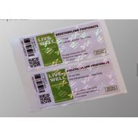 Buy cheap Strong Adhesive Vial Custom Hologram Stickers For Drostanolone Propionate from wholesalers