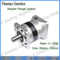 Buy cheap 90mm high precision planetary gearboxes match with 750w servor motor from wholesalers
