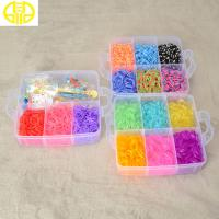 Buy cheap Newest Style Rainbow Loom Rubber Band Making Kit With Mixed Colors Bands from wholesalers