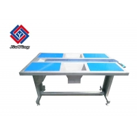 Buy cheap Commercial 4 Station Working Selection Table With Conveyor Stainless Steel from wholesalers
