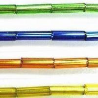 Wholesale Glass Seed Jewelry Beads, Comes in Bugle Shape, with 2, 3, 4 and 5-inch Sizes from china suppliers