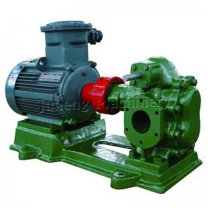 China Lubrication Oil Transfer Gear Pump / Viscous 5-1500 Cp Liquid Fluid Transfer Pump on sale
