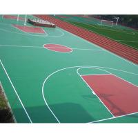 Buy cheap Sandwich System PU Sports Flooring Materials For Futsal Court Surface from wholesalers