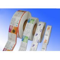 Buy cheap Heat Sensitive Adhesive Paper Stickers , Adhesive Label Paper For Protective Film from wholesalers