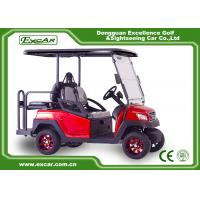 Buy cheap 4 Seater Red Electric Golf Carts club car 4 seater electric golf cart from wholesalers