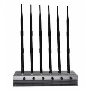 Wholesale AC220V-DC12V 15 Watt Rf Signal Blocker , Mobile Phone Signal Jammer High Power from china suppliers