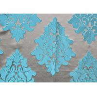 Buy cheap Yarn Dyed Jacquard Woven Fabric / Jacquard Silk Fabric Comfortable from wholesalers