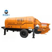 Wholesale Long Distance Delivery Lightweight Concrete Pump , Small Portable Concrete Pump from china suppliers