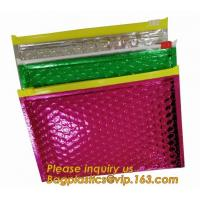 Buy cheap Slider Padded Bags/Colorful Ziplock Bubble Bags,Zipper Bubble Bag Postage Packaging Anti-static Packaging Heat Insulatio from wholesalers