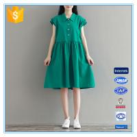 Buy cheap Fashion Loose Style Casual Women Plus Size Dresses Fat Girls Clothing from wholesalers