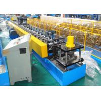 Buy cheap 11KW Steel Mute Guide Track Roll Forming Equipment Roller Shutter Door Use from wholesalers