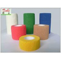 Buy cheap OEM Nowoven Waterproof Skin Care Cohesive Adhesive Bandage from wholesalers