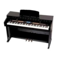 Wholesale 88 key  digital piano with hammer action keyboard Melamine shell W8808A from china suppliers