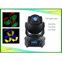 Buy cheap 60W High Power Indoor Spot Moving Head Light Led Sound Actived For Live Concerts from wholesalers