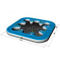 Buy cheap Commercial Amusement Cup Hole Inflatable Water Toys Floating Sofa For Adults from wholesalers