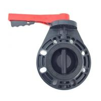 Buy cheap 3'' PVC Butterfly Valve With EPDM Seals and A Stainless Steel Stem For Water Parks from wholesalers