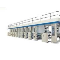 Buy cheap 17x1.8x2.4m WLS 10 color Rotogravure paper printing machine Single Hydraulic cylinder from wholesalers
