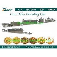 China Double screw extruder Corn Flakes Processing Line / equipment / machinery on sale