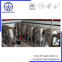 Buy cheap Glycol Cooling Jacket Beer Fermentation Tank 500L 1000L Micro Brewery Fermenter from wholesalers