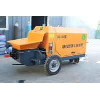 Buy cheap 12 Mpa Portable Concrete Pump Wireless Remote Control Air Cooling System from wholesalers