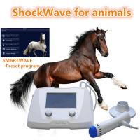 Buy cheap Veterinary Equine Shockwave Machine Equipment For Dogs / Horses White Color from wholesalers