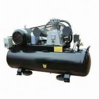 Buy cheap Heavy-duty Air Compressor with 70mm Stroke, Belt Drive, 250L Tank and 370mm Wheel from wholesalers