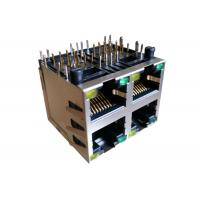 Buy cheap ARJM22A1-805-BB-EW2 Stacked RJ45 MagJacks 2x2 Integrated Transformer 2.5G from wholesalers
