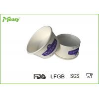 Buy cheap Purple 2oz Disposable Double Poly Ice Cream Paper Cups for Frozen yogurt 100 cc from wholesalers