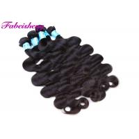Buy cheap Unprocessed Brazilian Virgin Body Wave Hair Weft Non-Chemical 100% Human Hair Extension from wholesalers
