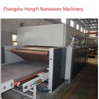 Nonwoven Thermal Bond Wadding Felt Making Machine For Filter Material 60-1500g/M2 Manufactures
