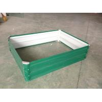 Buy cheap Green Raised Garden Beds For Vegetable , Metal Garden Planter Boxes from wholesalers