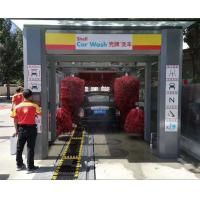 Buy cheap Automatic Tunnel Car Washing Machine for sales to America/ Automated Car Washer with Platform Belt Conveyor from wholesalers