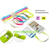 Buy cheap Micro USB Charger Data Cable for Iphone,Samsung with custom logo printing from wholesalers