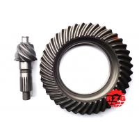 Transmission System Spiral Bevel Gear , Crown Pinion Gear  for MITSUBISHI Rear Axle ratio