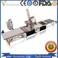 Buy cheap wood furniture production line kitchen cabinet making machine cnc wood machine TM1325F.THREECNC from wholesalers