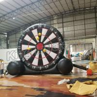 Buy cheap New Design 5 Meter High Inflatable Sports Games , Inflatable Football Dart Board from wholesalers